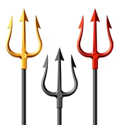 Devil tridents vector