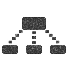 Dotted scheme grainy texture icon vector