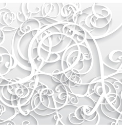 Abstract Background 3D vector image