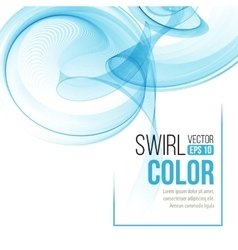 Abstract dynamic background swirl wavy vector