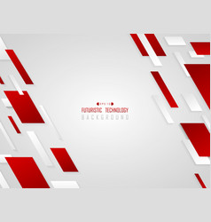 abstract gradient red geometric technology stripe vector image