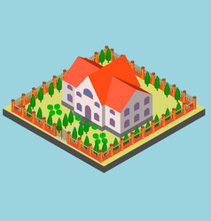 Big manor in isometric and vector