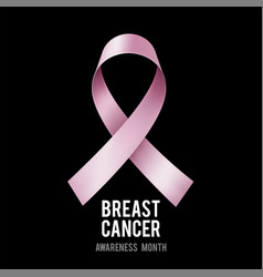 breast cancer awareness concept vector image