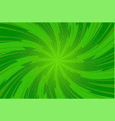 comic abstract green bright template vector image