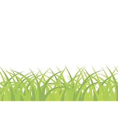 Grass background seamless pattern vector
