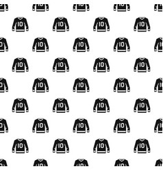 Hockey jersey pattern vector