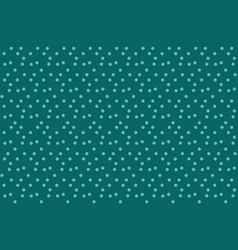 Simple green blue polka background seamless vector