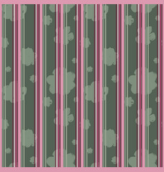 sophisticated floral and lines pattern vector image