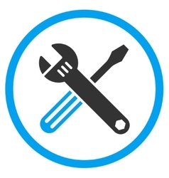 Tools Rounded Icon vector image