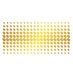 Wheat seed golden halftone matrix vector