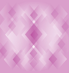 Abstract diamond shape pink background wallpaper vector