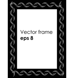 foto frame vector image