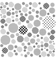 Geometric monochrome abstract background vector