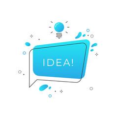 Quick tips badge speech bubble trick idea vector