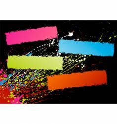spectrum frames vector image vector image