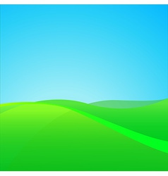 Summer Green Field vector