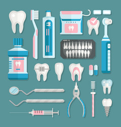 Health care dentist medical tools medicine vector