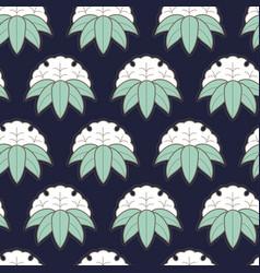 seamless pattern in japanese style sashiko vector image
