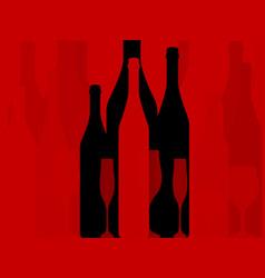 wine background vector image vector image