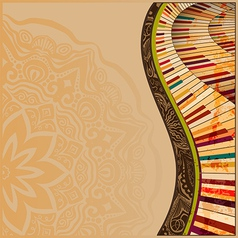Musical background2 vector image