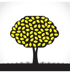 Lemon tree vector image vector image