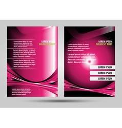Stylish beauty spa fashion presentation of busines vector image vector image