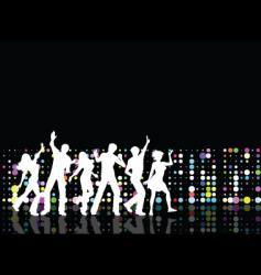 disco time vector image