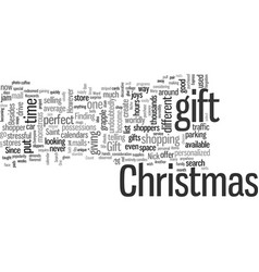 In search of the perfect christmas gift vector