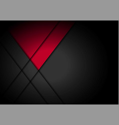 Red light arrow black with wavy mesh background vector