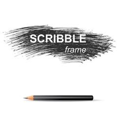 Scribble background vector