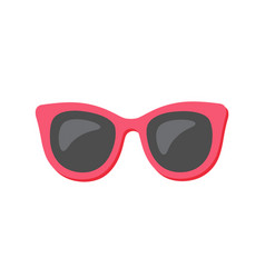 sunglasses glasses protecting from sun isolated vector image