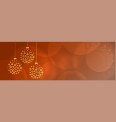 beautiful christmas holidays background vector image