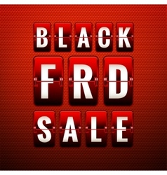 Black friday sale EPS 10 vector image