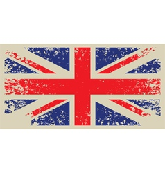 Britain flag vector image