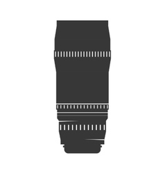 Camera lens icon Gadget design graphic vector image