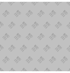 Cultery seamless pattern vector