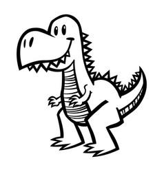 Dinosaur t-rex vector