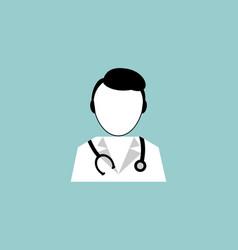 doctor logo symbol vector image