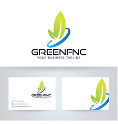 Green finance vector