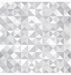 Grey triangle abstract background vector