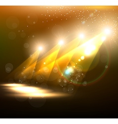Orange Spotlight Background vector