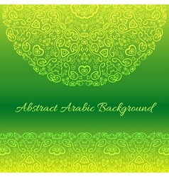 Abstract arabic background vector image