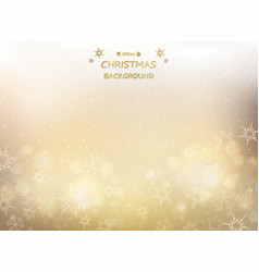 abstract of golden christmas background with vector image
