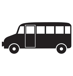 autobus vector image