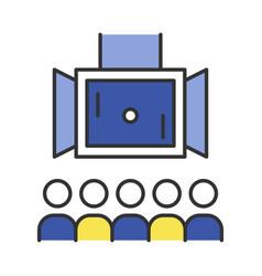 Esports color icon vector