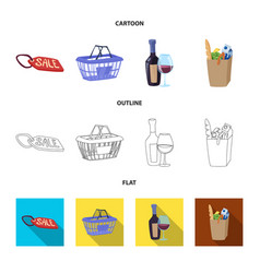 food and drink icon vector image