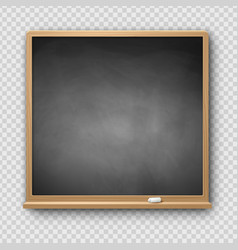 Gray square chalkboard vector