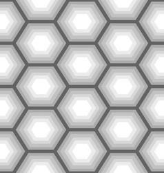 hexagon seamless pattern 3 vector image