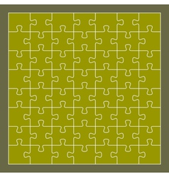 puzzle 56 pieces vector image