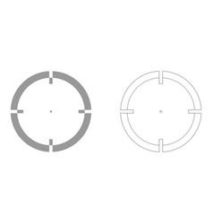 sight set icon vector image